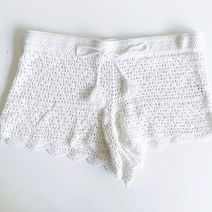 Tory Burch crochet shorts